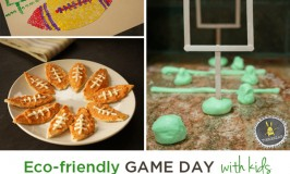 Fun and Easy Eco-friendly Super Bowl Party Ideas with Kids @UnileverUSA