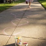 Valentine Activity for Preschoolers | Heart Hopscotch