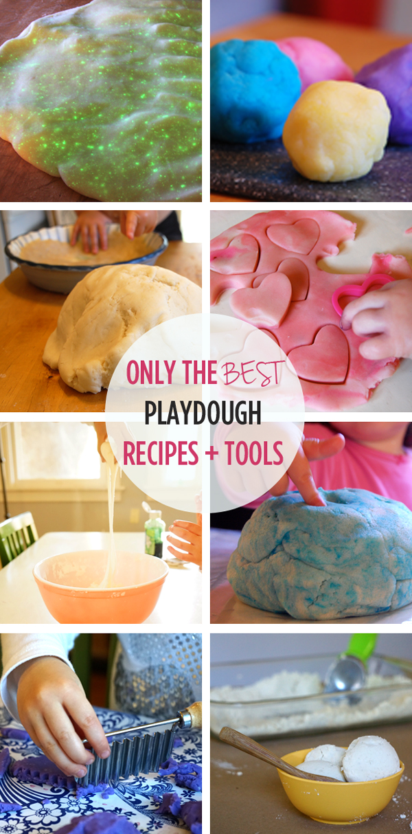 Only the BEST playdough recipes and tools (including our favorite play dough recipe, used by preschool teachers around the globe) | TinkerLab.com