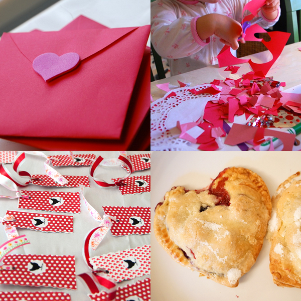 8 Easy Valentine Crafts for Kids | TinkerLab.com