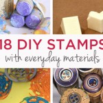 Art for Kids | DIY Stamps