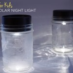 Mason Jar Solar Lights for Kids