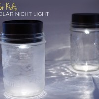 Mason Jar Solar Lights for Kids