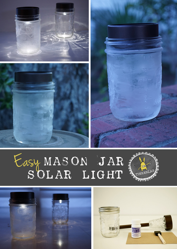 Easy Mason Jar Solar Light | Save Money! | Make it in 5 Minutes