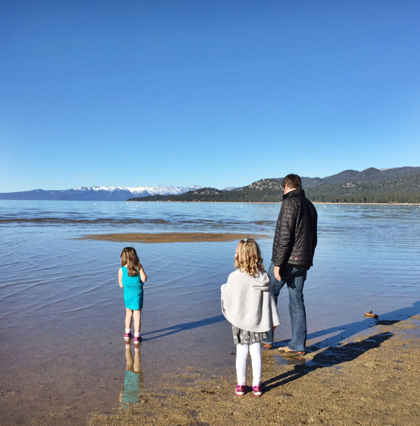Family at Lake Tahoe