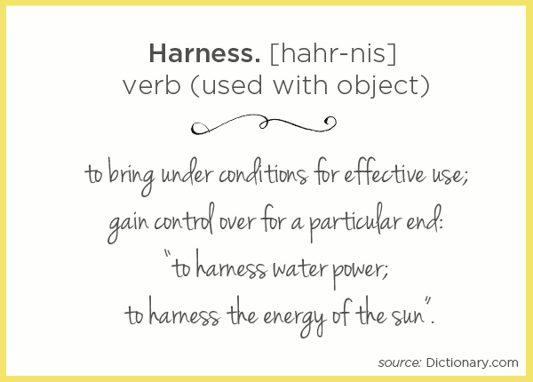 Harness Definition | TinkerLab.com