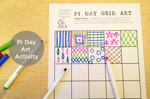 Pi Day 2015 Pi Day Art Project – Pi Day Worksheets