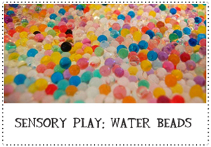 Water Beads for Sensory Play | TinkerLab