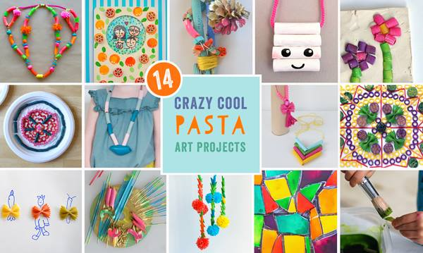 Pasta art projects
