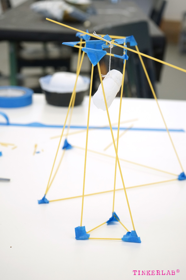Spaghetti Marshmallow Tower: STEM Challenge