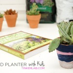 How to Paint Terracotta Pots with Kids