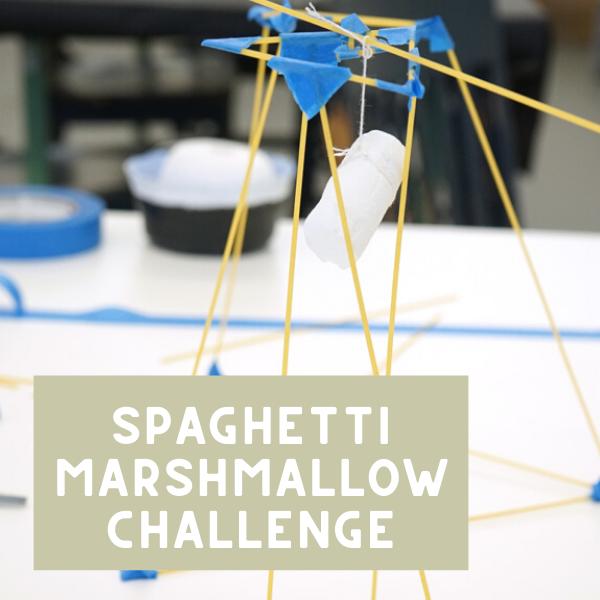 Spaghetti Tower Marshmallow Challenge