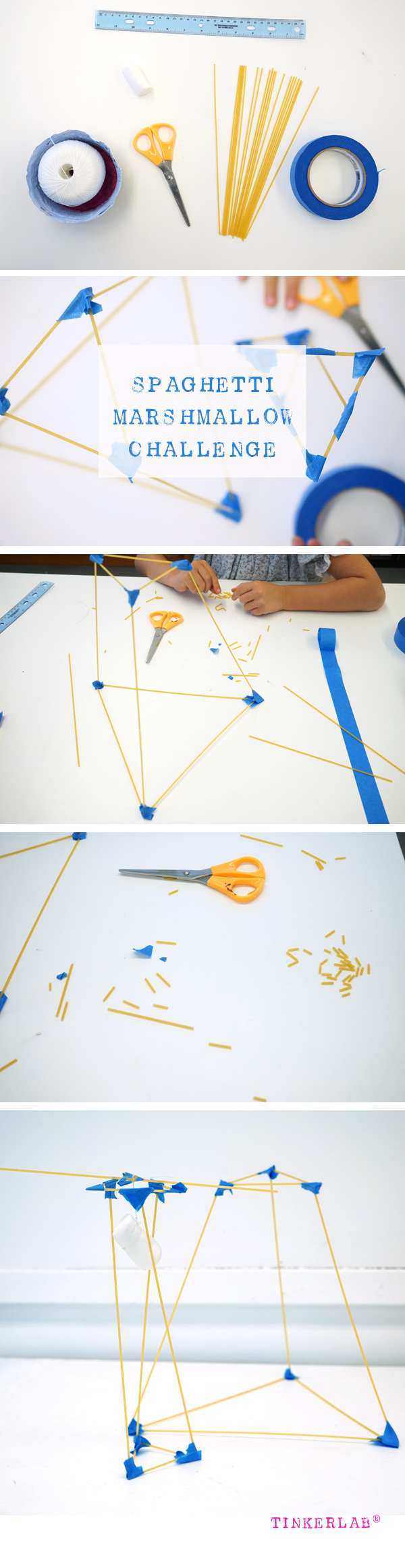Spaghetti and Marshmallow Challenge