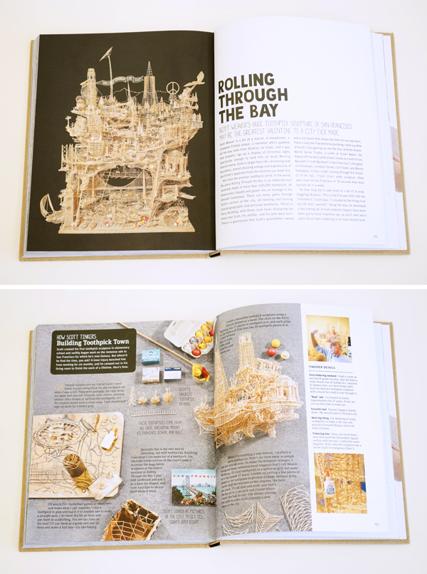 Art of Tinkering Toothpick Sculpture - Book Review