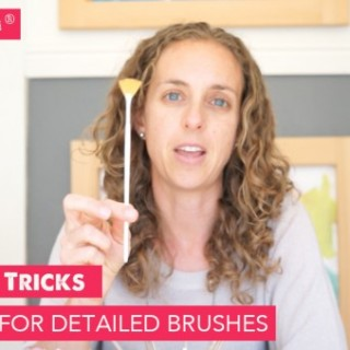 Art Tips and Tricks: Amazing Deal for Detail Paintbrushes (plus, the source of these brushes may surprise you)