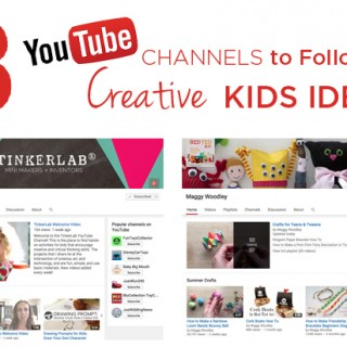 What an Inspiring List! 8 YouTube Channels to Follow for Creative Kids Ideas and Activities | TinkerLab