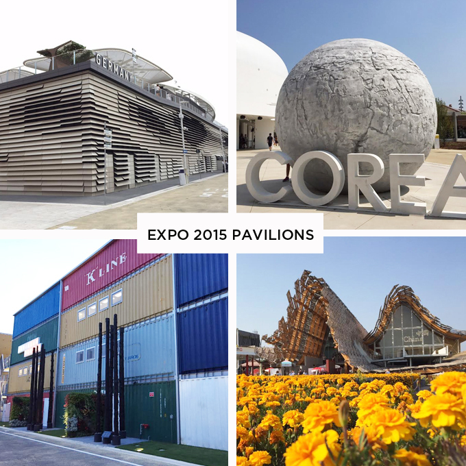 World Expo 2015 Pavilions