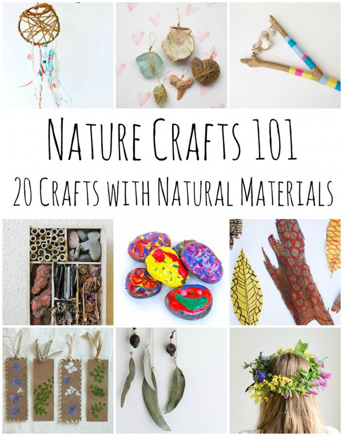 20 Creative and Fun Nature Crafts for Kids