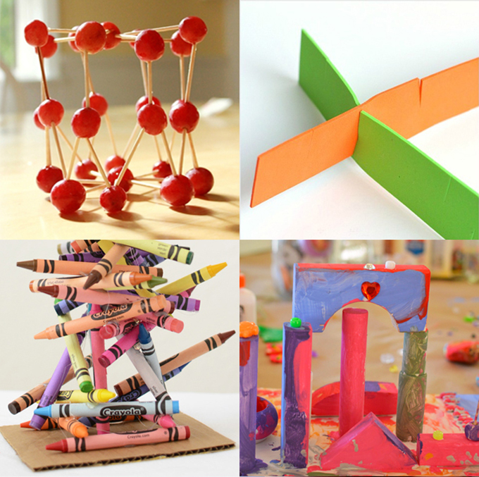 Sculpture projets for Preschool and Kindergarten