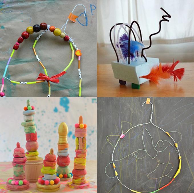 Sculpture projets for Preschool and Kindergarten