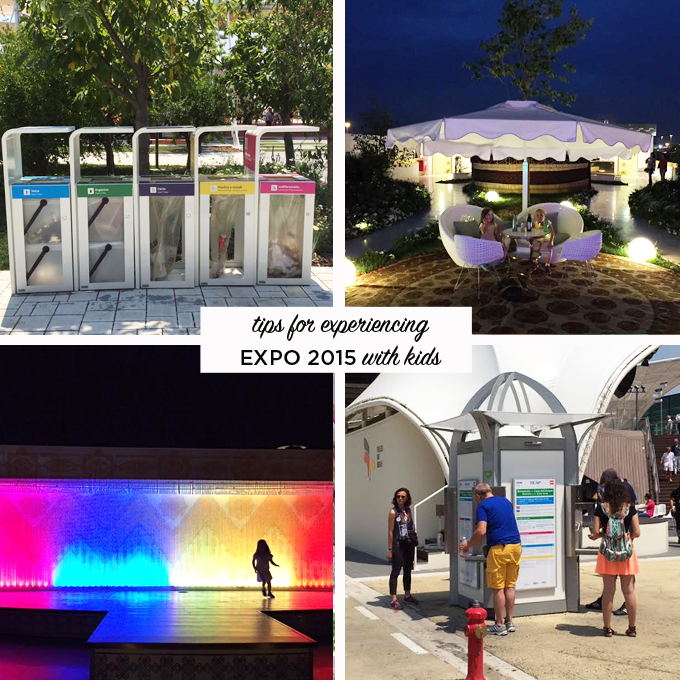Tips for experiencing Expo 2015 with kids | TinkerLab