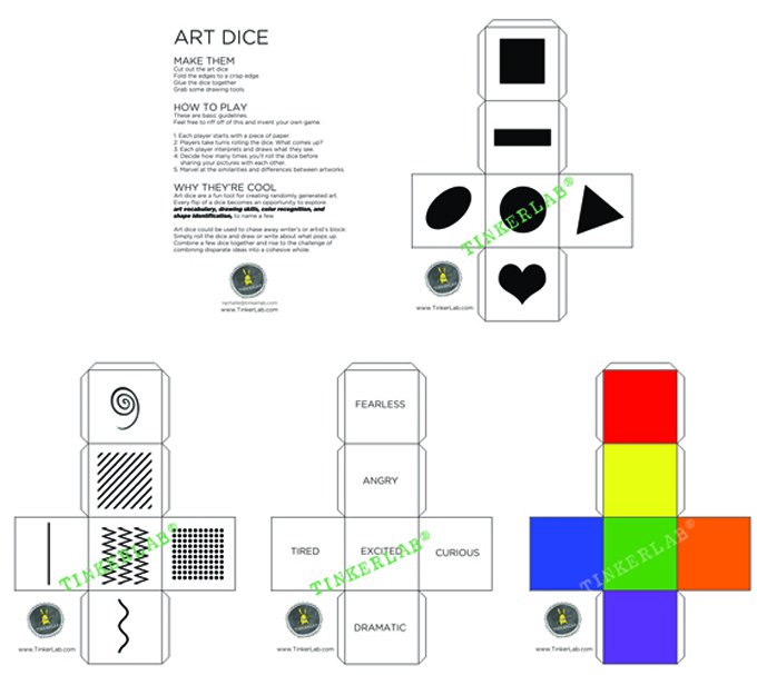 Art Dice Overview watermark