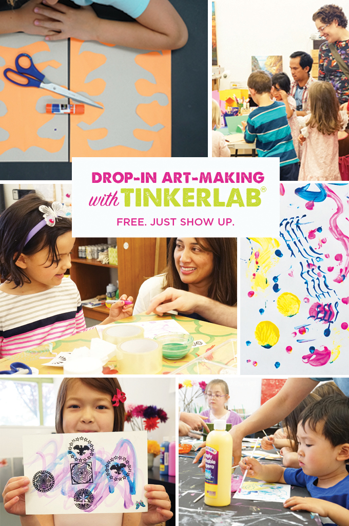 Art making workshops with TinkerLab®