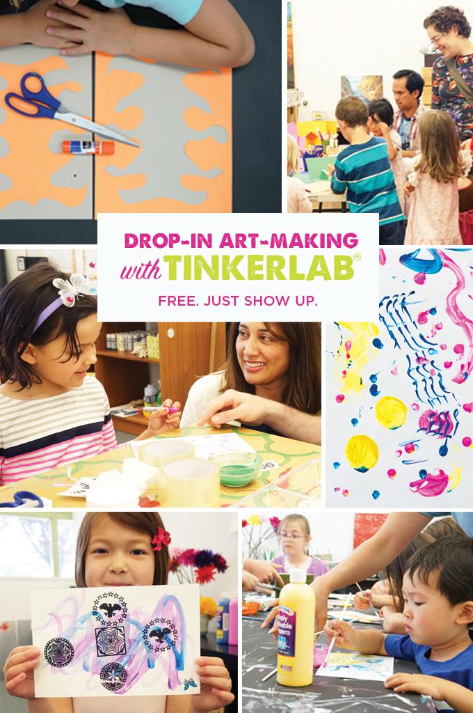 Art making workshops with TinkerLab®
