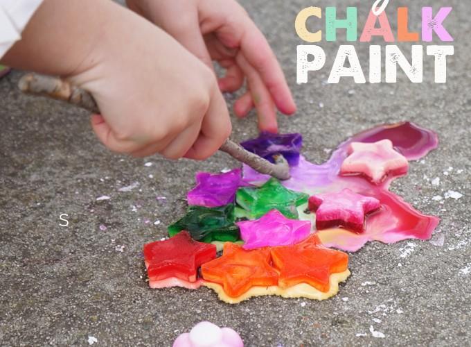 Frozen Chalk Paint – an Art Provocation