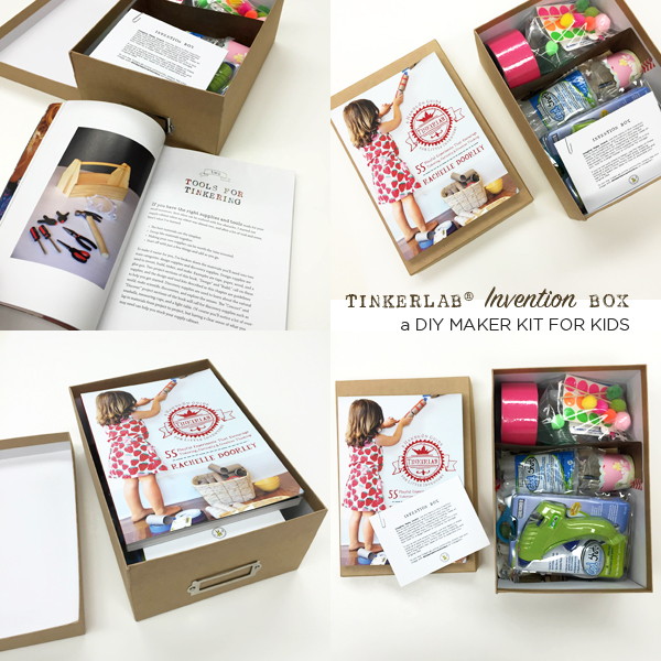 Maker your own TinkerLab Invention Box