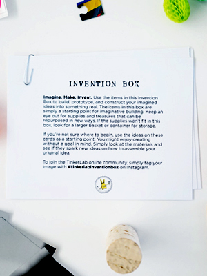invention box cards