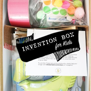 DIY Invention Box for Kids from TinkerLab