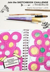 Join the TinkerSketch Sketchbook Challenge in November 2015