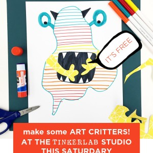 art critters project for kids