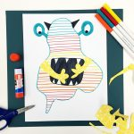 Art Critters with String and Markers