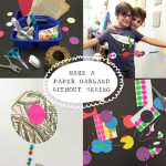 How to Make a Paper Garland without Sewing