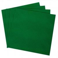 Green Lego Bases | TinkerLab