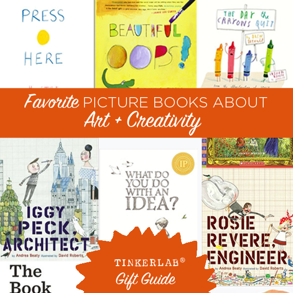 Best picture books for Art and Creativity| TinkerLab