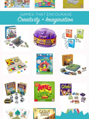 Games that encourage creativity and imagination | TinkerLab Gift Guide