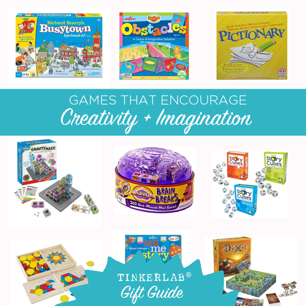 Games that encourage creativity Gift Guide square