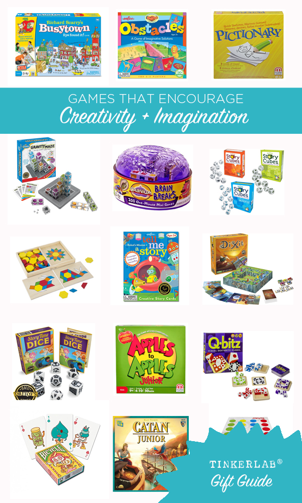 These games are so fun. My kids love them all, but Obstacles and Catan really rise to the top | TinkerLab Gift Guide