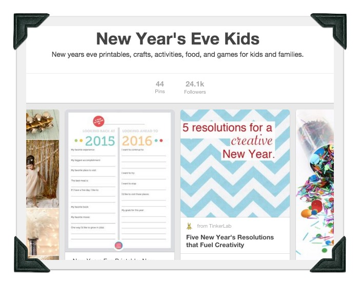 New Years Eve Pinterest
