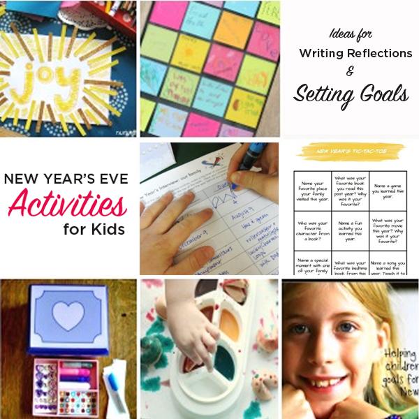 New year's goal setting kids