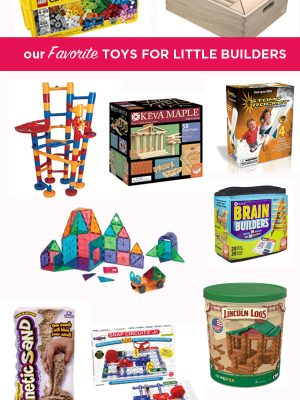 Gift Guide for Little Builders | TinkerLab