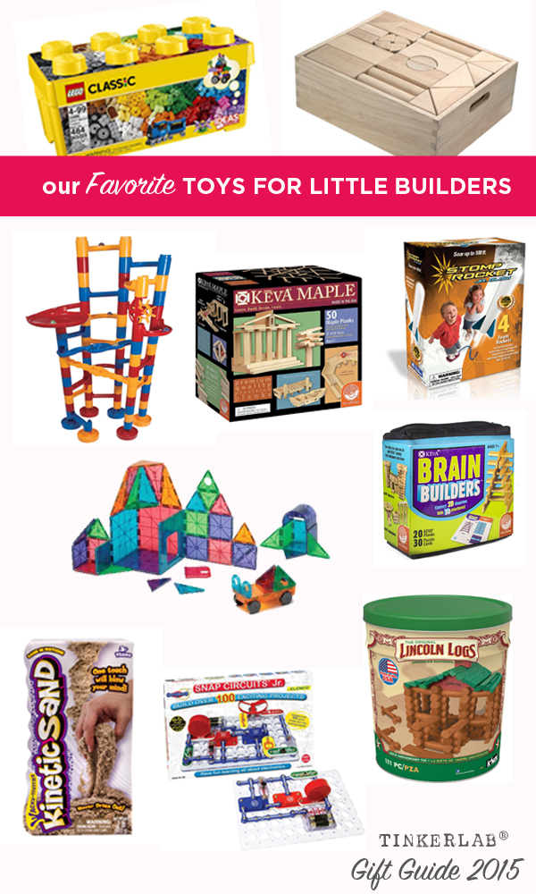 Toys For Little : Kids gift guide toys for engineering and building