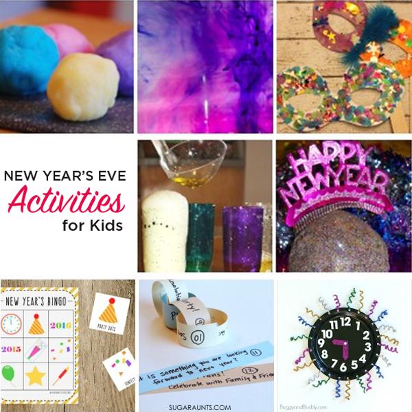 fun new year activities kids