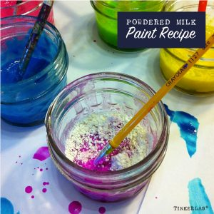Powdered Milk Paint Recipe | TinkerLab