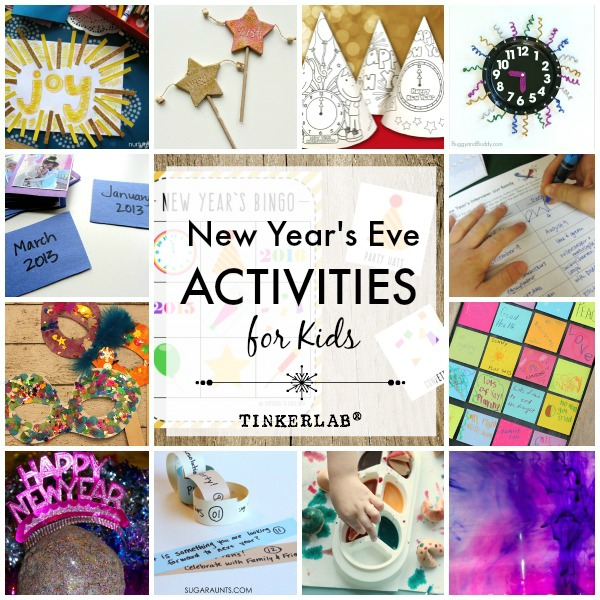 New Year's Eve Crafts and Activities for Kids