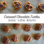 Caramel Chocolate Pecan Turtle Recipe