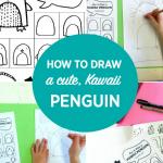 How to Draw a Kawaii Penguin